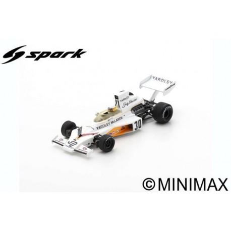 SPARK S5736 MCLAREN M23 N°30 GP Angleterre 1973 Jody Scheckter