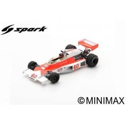 SPARK S5744 MCLAREN M23 N°40 GP Angleterre 1977 Gilles Villeneuve