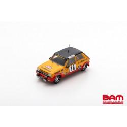 SPARK S6033 RENAULT 5 Alpine N°16 Rallye Monte Carlo 1979 Guy Fréquelin - Jacques Delaval