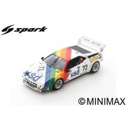 SPARK S6405 BMW M1 N°72 24H Le Mans 1981 P-F. Rousselot - F. Sérvanin - L. Ferrier