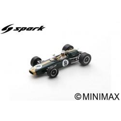 SPARK S7091 BRABHAM BT22 N°8 GP Monaco 1966 Denny Hulme