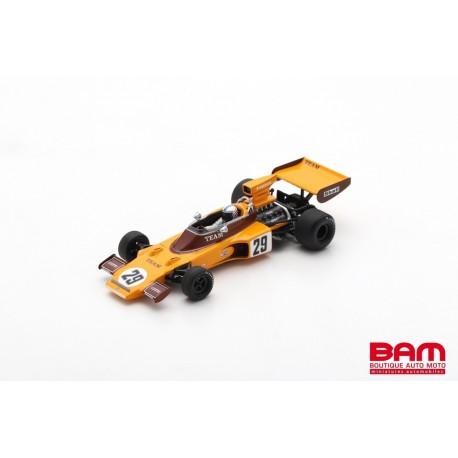 SPARK S7296 LOTUS 72E N°29 GP Afrique du Sud 1974 Ian Scheckter