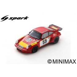SPARK S9974 PORSCHE 911 Carrera RSR N°59 24H Le Mans 1975 T. Schenken - H. Ganley