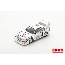 SPARK S7896 AUDI Sport quattro S1 E2 N°1 Vainqueur Rallye Olympus 1985 Hannu Mikkola - Arne Hertz