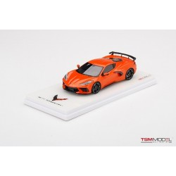 TRUESCALE TSM430495 CHEVROLET Corvette Stingray 2020 Sebring Orange Tintcoat