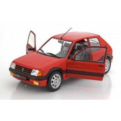SOLIDO S1801702 PEUGEOT 205 GTI 1.9 PHASE 1 ROUGE (1/18)