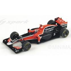 SPARK S3014 MARUSSIA-VIRGIN MVR-02 N°24 GP F1 Chin