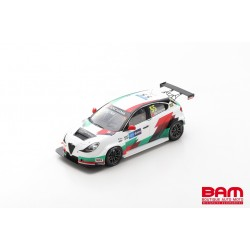 SPARK SA233 ALFA ROMEO Giulietta Veloce TCR N°55 Race 1 WTCR Race Macau 2019 Ma Qing Hua (300ex)
