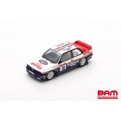 SPARK SF148 BMW M3 E30 N°10 Vainqueur Tour de Corse Rallye de France 1987 Bernard Béguin - Jean-Jacques Lenne (300ex)