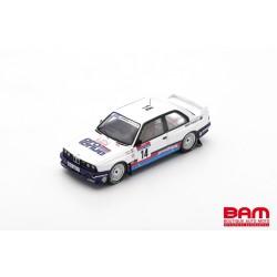 SPARK SF149 BMW E30 N°14 Tour de Corse Rallye de France 1987 George Biar - Marc Duez (300ex)