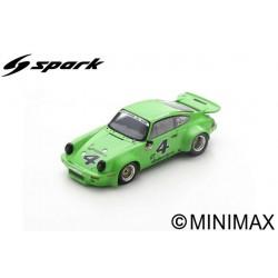 SPARK US148 PORSCHE 911 Carrera RSR 3.0 N°4 Laguna Seca IMSA GT 1974 H. Haywood - B. Webbe (300ex)