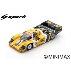 SPARK S9857 PORSCHE 956 N°8 24H Le Mans 1984 J. L. Schlesser - M. de Narváez - S. Johansson