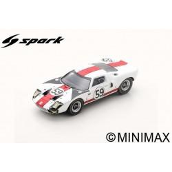 SPARK S4537 FORD GT40 N°59 24H Le Mans 1966 S. Scott - P. Revson