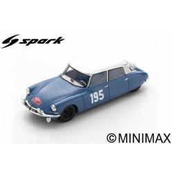 SPARK S5533 CITROEN DS19 N°195 5ème Rallye Monte Carlo 1963 Bob Neyret - Jacques Terramorsi