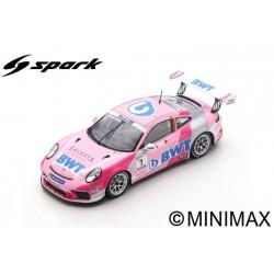 SPARK S8504 PORSCHE Carrera Cup N°1 Champion Supercup 2019 Michael Ammermüller
