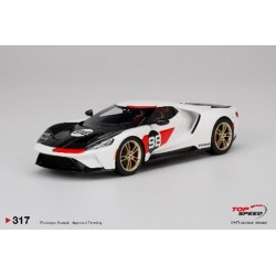 TOP SPEED TS0317 FORD GT 2021 Edition Heritage
