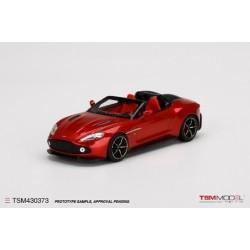 TRUESCALE TSM430373 ASTON MARTIN Vanquish Zagato Speedster Lava Red