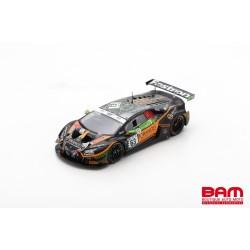 SPARK SB396 LAMBORGHINI Huracán GT3 Evo N°63 Orange 1 FFF Racing Team 24H Spa 2020 D. Lind - M. Mapelli - A. Caldarelli (300ex)