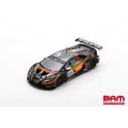 SPARK SB386 LAMBORGHINI Huracán GT3 Evo N°555 Orange 1 FFF Racing Team 3ème Silver Cup 24H Spa 2020