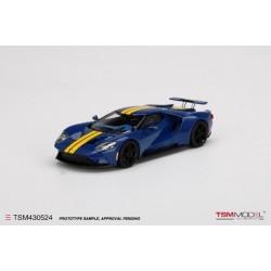 TRUESCALE TSM430524 FORD GT Sunoco Blue/Yellow
