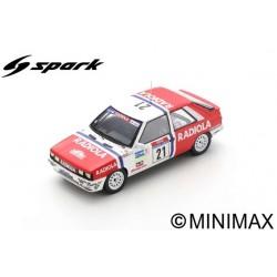 SPARK SF146 RENAULT 11 Turbo N°21 Tour de Corse Rallye de France 1987 Paul Rouby - Jean-Louis Martin (300ex)