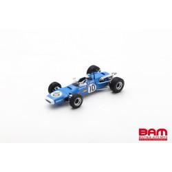 SPARK SF185 MATRA MS7 N°10 3ème Grand Prix de Pau F2 1968 Jean-Pierre Beltoise (300ex)