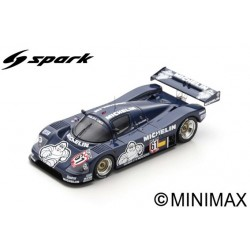 SPARK SG429 SAUBER C9 N°61 Vainqueur Nürburgring Supercup 1987 -Jean-Louis Schlesser (300ex)