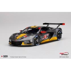 TOP SPEED TS0320 CHEVROLET Corvette C8.R N°4 IMSA 24H Daytona 2020-O. Gavin - T. Milner - M. Fassler