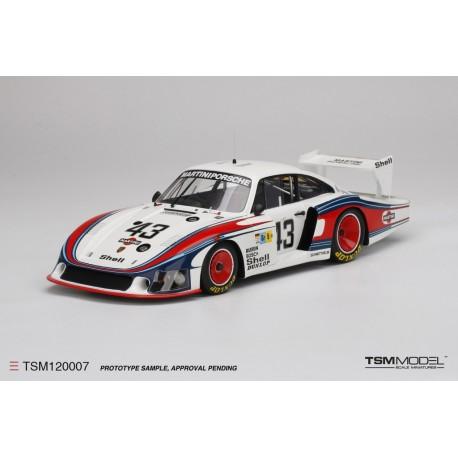 """TRUESCALE TSM0007 PORSCHE 935""""""""MOBY DICK"""" 24H """"Le Mans 1978 N°43"""" (1/12)"""