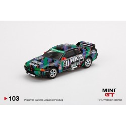 MINI GT MGT00103-R NISSAN Skyline GT-R R32 Gr. A N°87 HKS 1993 Japan Touringcar Championship