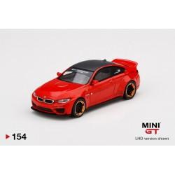 MINIGT00154-L BMW M4 Redw/Cooper Wheel LB Works