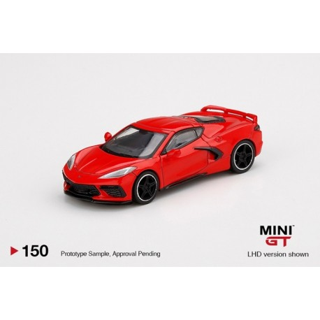 MINIGT00150-L CHEVROLET Corvette Stingray 2020 Torch Red
