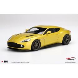 TOP SPEED TS0191 ASTON MARTIN Vanquish Zagato Cosmopolitan Yellow