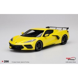 TOP SPEED TS0286 CHEVROLET Corvette Stingray 2020 Accelerate Yellow Metallic