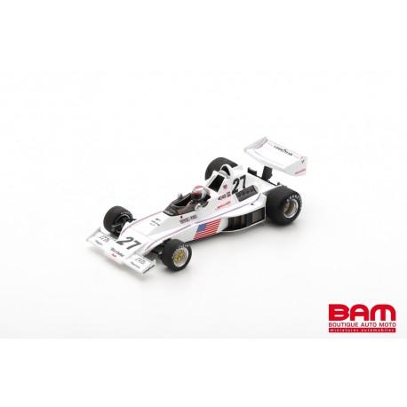 SPARK S1893 PARNELLI VPJ4 N°27 6ème GP Afrique du Sud 1976 Mario Andretti