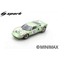 SPARK S4539 FORD GT40 N°12 24H Le Mans 1968 P. Salmon - E. Liddell