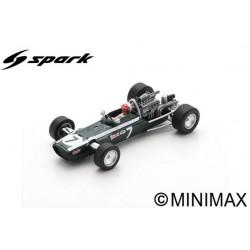 SPARK S6982 COOPER T86B N°7 3ème GP Monaco 1968 Lucien Bianchi