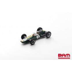 SPARK S7294 LOTUS 33 N°2 GP France 1966 Pedro Rodríguez