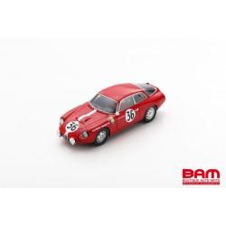 SPARK S9054 ALFA ROMEO Giulietta GZ N°36 24H Le Mans 1963 K. Foitek - A. Schäfer