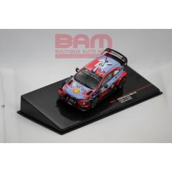 IXO IXORAM713 HYUNDAI I20 WRC N°19 loeb/elena RALLYE DU CHILI 2019