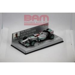 MINICHAMPS 410110007 MERCEDES GP PETRONAS F1 2011 SCHUMACHER