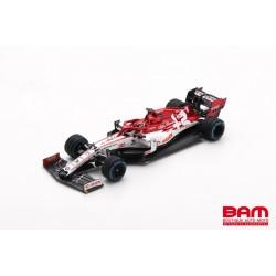 SPARK S6492 ALFA ROMEO Racing ORLEN C39 N°7 GP Turquie 2020