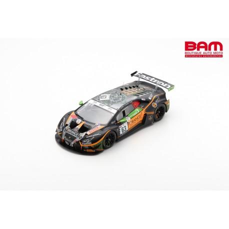SPARK 18SB029 LAMBORGHINI Huracán GT3 Evo N°63 Orange 1 FFF Racing Team 24H Spa 2020