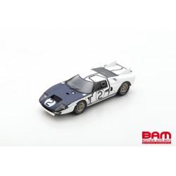 SPARK S4533 FORD GT40 MK2 N°2 24H Le Mans 1965 P. Hill - C. Amon