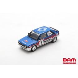 SPARK S5569 RENAULT 11 Turbo N°9 Rallye Monte Carlo 1987 Fran‡ois Chatriot - Michel Périn