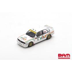 SPARK S7826 BMW M3 E30 N°5 Rallye 1000 Lakes Finland 1988 Ari Vatanen - Bruno Berglund