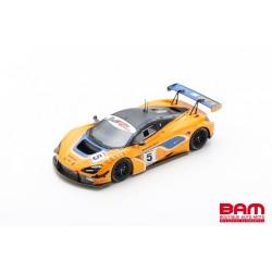 SPARK S9200 MCLAREN 720S GT3 N°5 McLaren Motorsport 8ème 12H Gulf 2018 B. Barnicoat - A. Parente - S. van Gisbergen