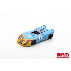 SPARK S9782 PORSCHE 908/02 N°4 24H Le Mans 1973 G. Ortega - F. Merello