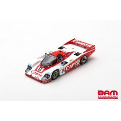 SPARK S9864 PORSCHE 956 N°14 2ème 24H Le Mans 1985 J. Palmer - J. Weaver - R. Lloyd