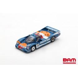 SPARK S9875 PORSCHE 962C N°17 24H Le Mans 1989 O. Larrauri - W. Brun - J. Pareja